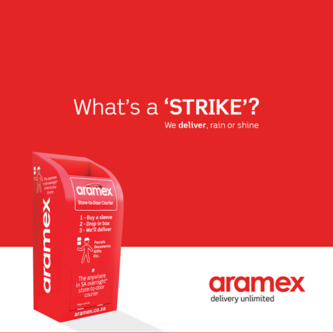 Aramex SA - What's a 'STRIKE'? We deliver, rain or shine